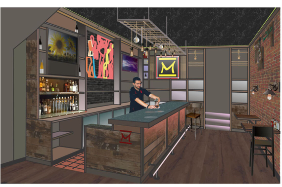 Build a restaurant bar