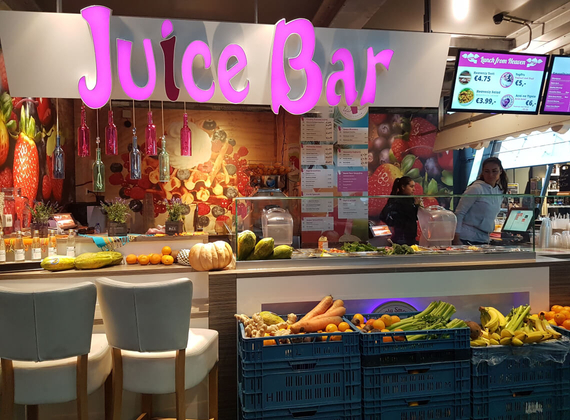 Build a juice bar